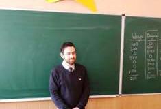 Знайомтесь, Іен Блер, волонтер Корпусу Миру США в Україні.