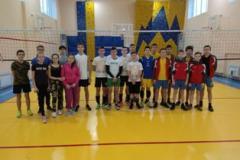 Передноворічний турнір з волейболу.